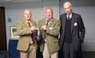 Secretary Andy Stott, Chairman Mark Shaw and BASC's President Rt Hon Earl of Home with the 2015 Stanley Duncan Award