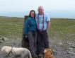 WWA Chairman Mark Shaw and his wife Sharon on top of Ingleborough..only 4.5. miles to go!